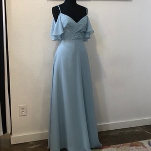 Dresses & Skirts - Light blue chiffon gown